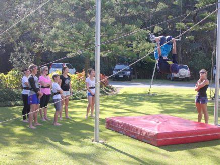 Trapeze lesson 12