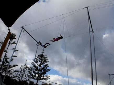 Trapeze lesson 9