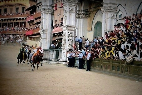 Palio in Siena Italy 1