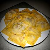 pumpkin spinach ricotta ravioli 6