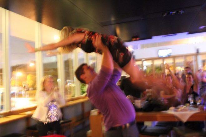 Brooke Dirty Dancing lift 2012