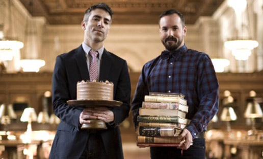 The creators ... Baked's Matt Lewis and Renato Poliafito. (92y.org)