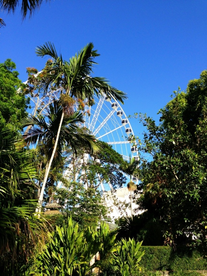 The Wheel of Brisbane.