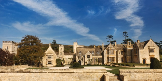 The amazing Ellenborough Park in Cheltenham.