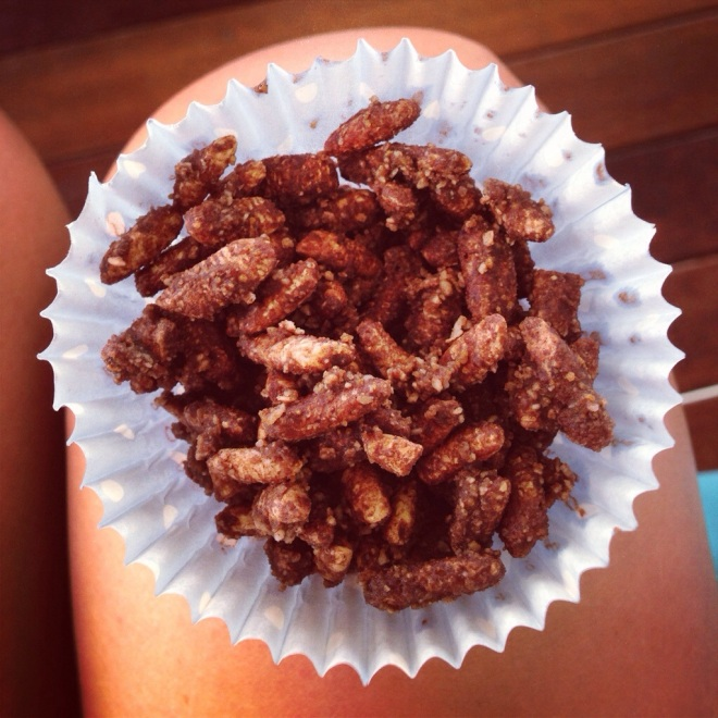 The healthy chocolate crackle.