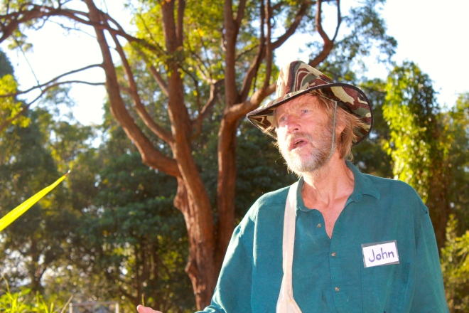 Johnny Palmer OAM has worked at Gwinganna since its inception. He designed the 16 walking tracks on the 500 acre property and continues to be an inspiration to guests and staff alike. He also gives amazing hugs. And is pretty good at Johnny Cash and John Denver songs with his guitar.