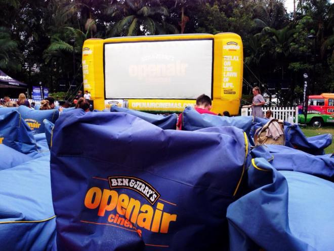 Ben & Jerry's Open Air Cinema Brisbane