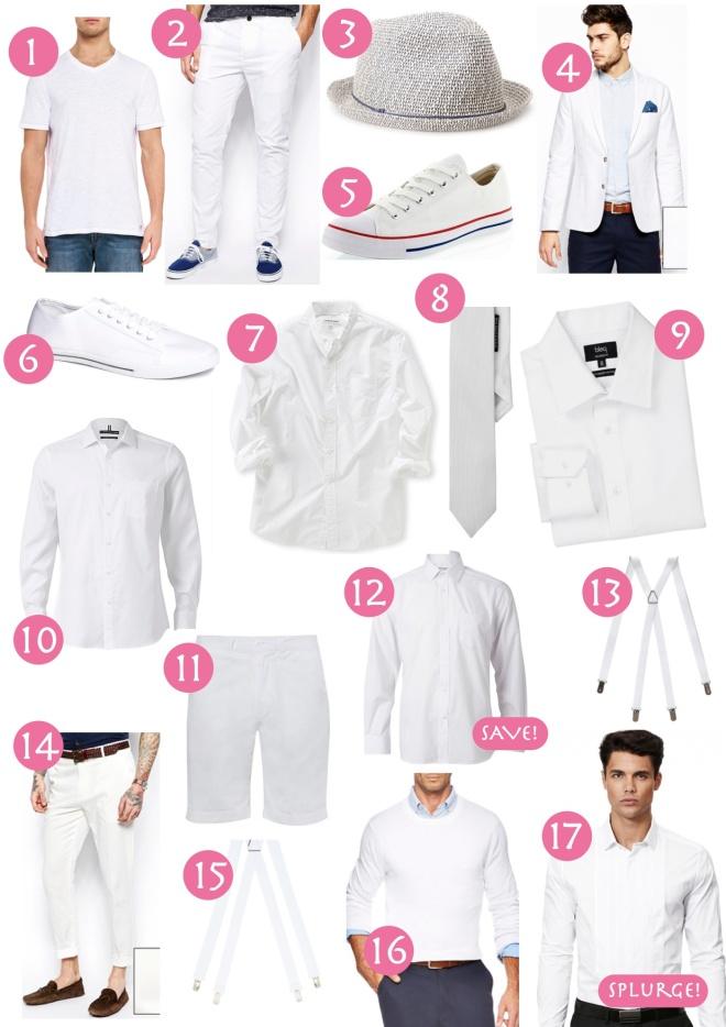 Diner en Blanc men's shopping guide