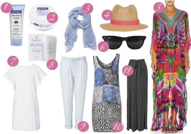 What to pack for Dubai