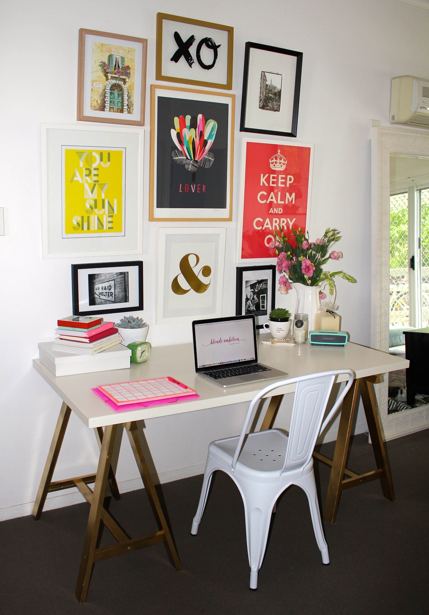 ikea office makeover. Desk Makeover Ikea Office