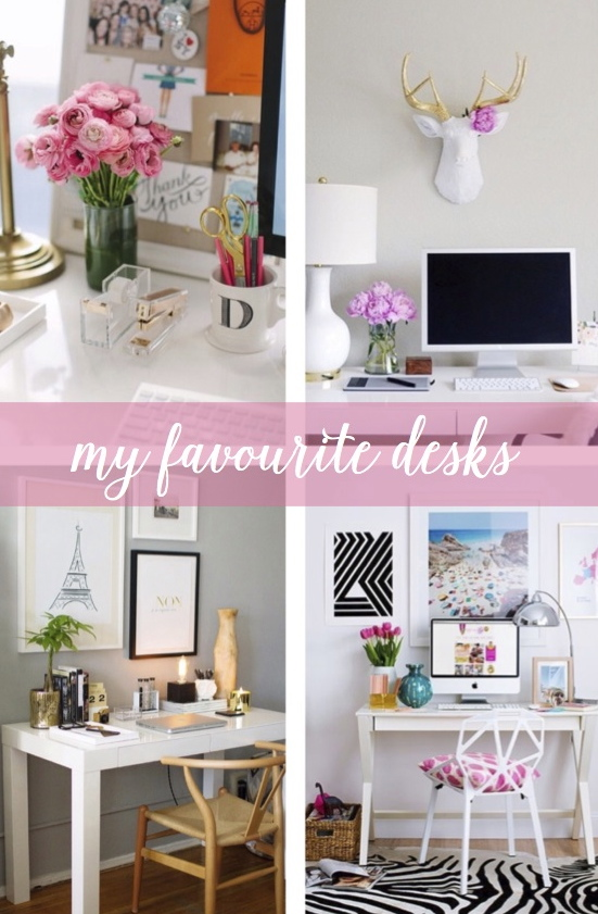 ikea desk makeovers