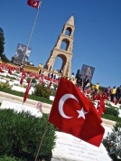 The Turkish 57th Regiment Memorial.