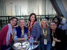 Nic, Jen, Jane, me and Elle.