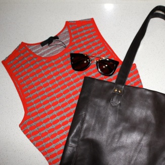 If you win these Prada sunnies which are being raffled off, you could make this outfit for under $100!