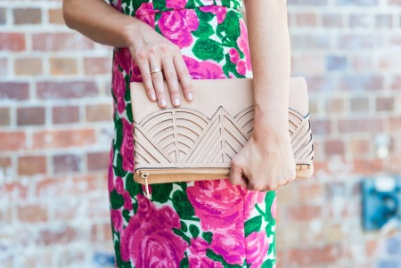 Aztec clutch by Sheike.