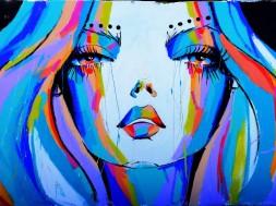 Street art at Bondi.