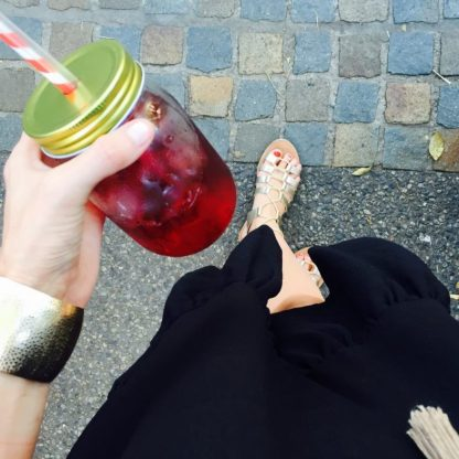 Rudolph Raspberry iced tea ... amazing!