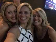 Hen's night fun with Leanne and Mum.