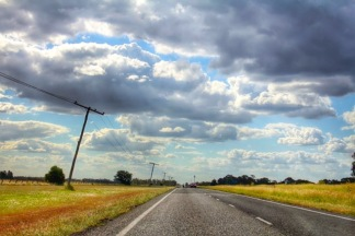 Road tripping through the Darling Downs.