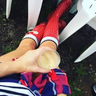 The essentials ... Spots, stripes and checks; wellies and wine.
