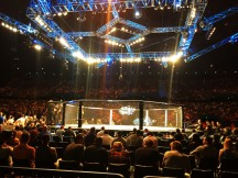 UFC bouts all take place in the Octagon.