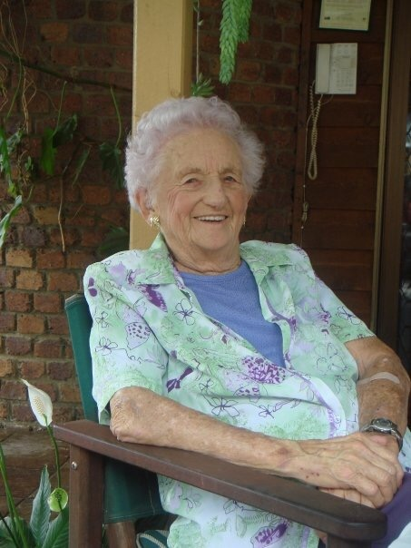 Bernice Falvey - 20 March 1916 to 8 February 2009.