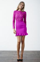 Yeojin Bae Embroidered Tulle Luna Dress. $650