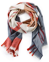 Country Road Yarn Dye Check Scarf. $79.95
