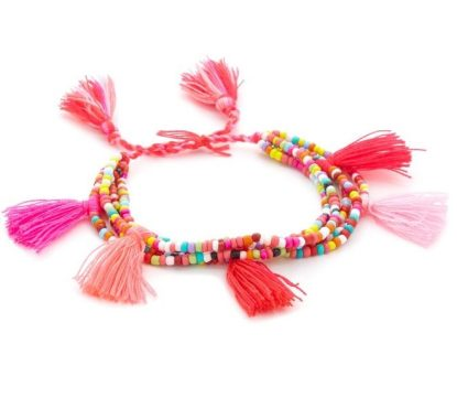 Lead Tassel Multi Strand Bracelet from Shopbop