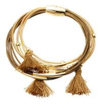 Shabby Sisters Tassel Bracelet