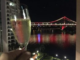 Champagne is always a good idea, especially when it's accompanied by this view!