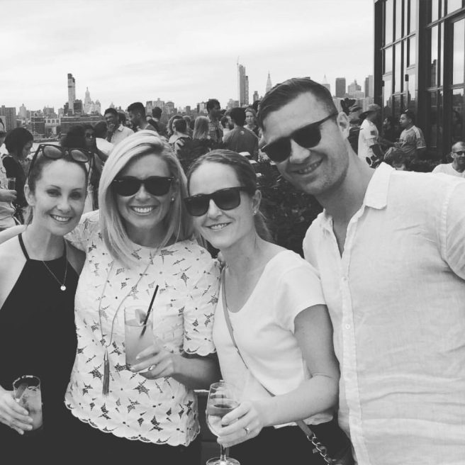 The Aussies take Brooklyn ... with Tiffany, Kylie and Ryan on our post-ride pub crawl.