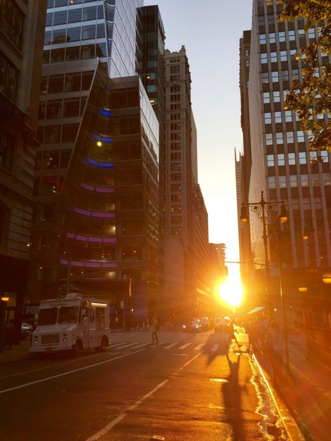 NYC Manhattanhenge 2016 2