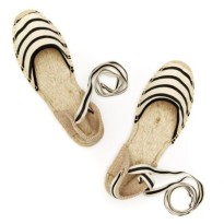 Soludos striped sandals