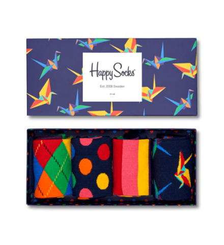 Happy Socks Origami Socks Gift Box, $59.95