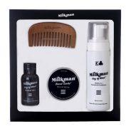 Milkman Grooming CoBeard Care Gift Pack, $85