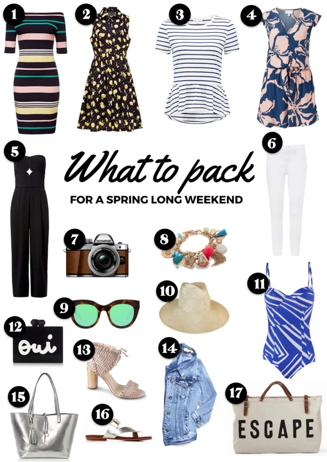spring-long-weekend-packing-guide
