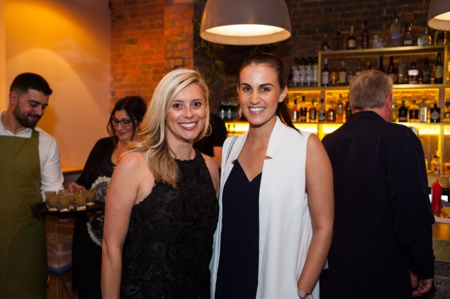 Girls' night out with gorgeous Cassie. Photo: Judit Losh