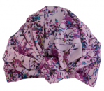 DAHLIA shower cap in Pink Painterly Floral