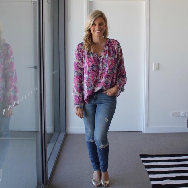 Floral_silk_blouse_blue_jeans