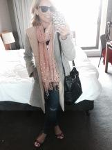 Hotel room selfie!