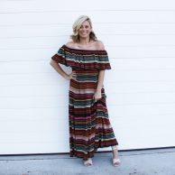 37 - Zara Off The Shoulder Dress