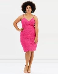 8. Atmos&Here Curvy Flaminka Lace Dress