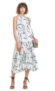 28 - Country Road Pleated Floral Dress