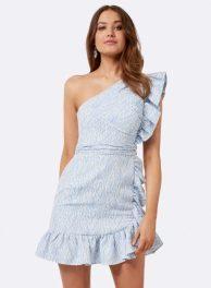 36 - Forever New Sophie One Shoulder Dress