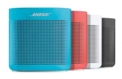 18. Bose SoundLink® Color Bluetooth® speaker II,