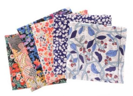 20. Mixed Liberty Hankie Bundles by Boutique Heidi