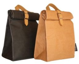 7. Black Caviar Designs Lunch Bag/Winecooler from Washable Paper,