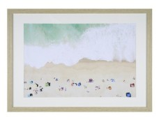 21. Kmart Beach Framed Print
