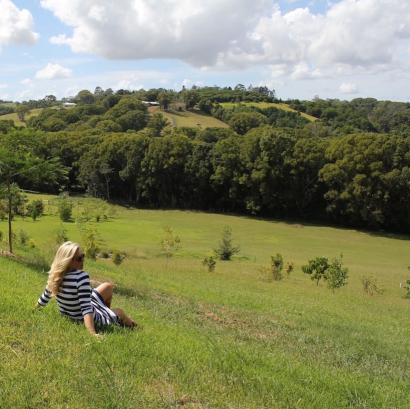 Hanging out in the hills of Bangalow.